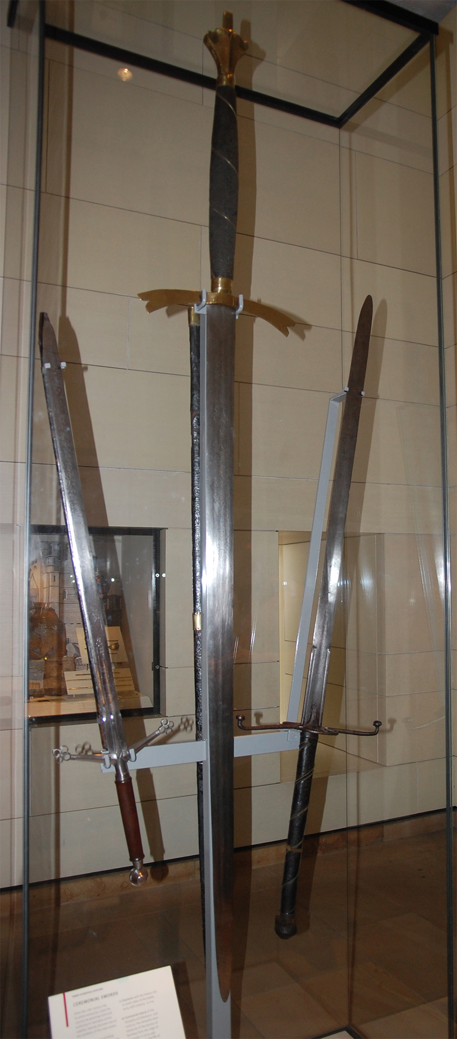 claymore sempill sword and lowland sword. national museum of scotland
