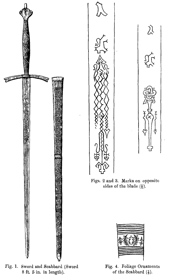 sempill sword and scabbard