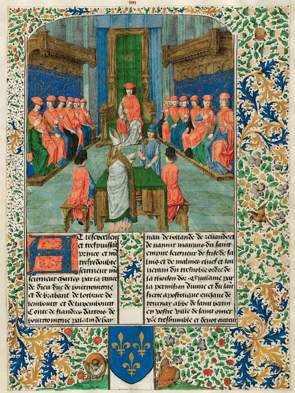 Meeting of the order of the Golden Fleece with Charles the Bold, Duke of Burgundy