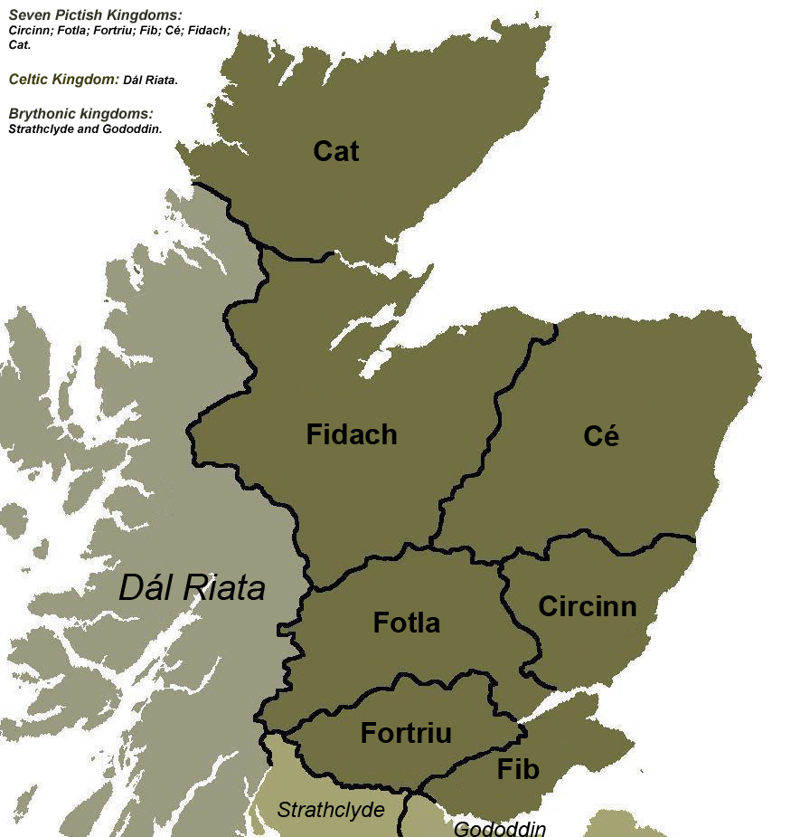 pictish kingdoms