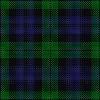 campbell or black watch tartan