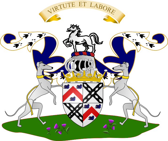 earl of dundonald coat of arms
