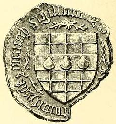 seal of malise graham 1st earl of menteith 1453