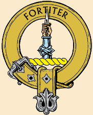 MacAlister crest badge