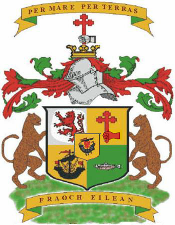 macdonald of macdonald coat of arms