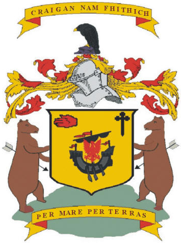 macdonell of glengarry coat of arms