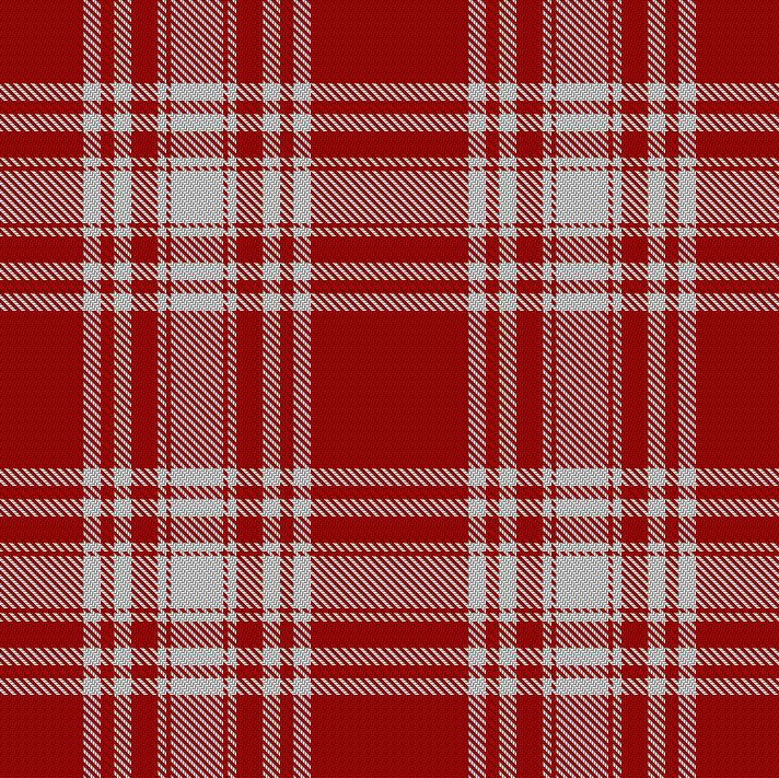 menzies red and white tartan