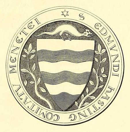 seal of edmund de hastings lord of inchmahome 1301