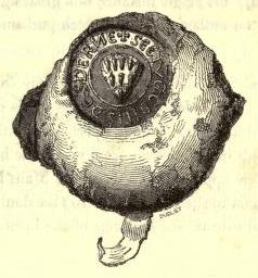 seal of gilbert third earl of strathearn c.1200
