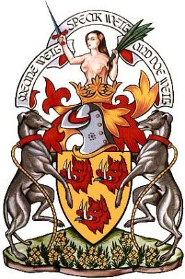 urquhart of urquhart coat of arms