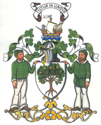 wood of largo coat of arms